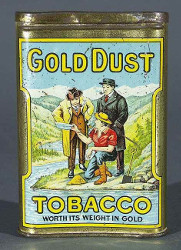boite tabac gold dust