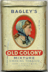 boite tabac old colony