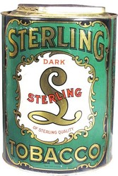 boite tabac sterling