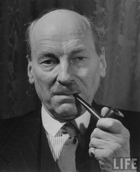 Clement Atlee pipe