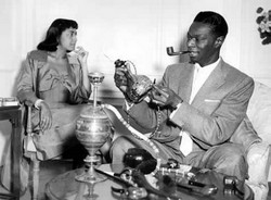 Nat King Cole pipe