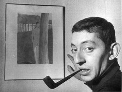 Serge Gainsbourg pipe