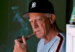 Sparky Anderson pipe