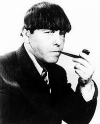 Moe Howard pipe