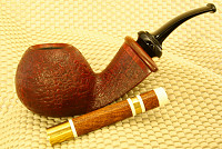 une pipe de Andrew Petersen - Quad City Pipes