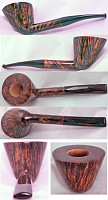 une pipe de Joël Shapiro - JS Pipes