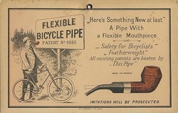 flexible bycicle pipe