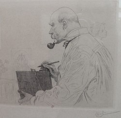 Carl Larsson pipe