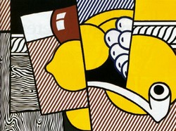 Roy Lichtenstein pipe
