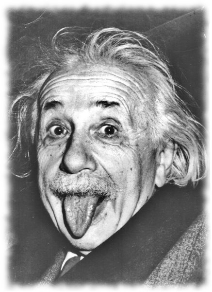 einstein tongue bite