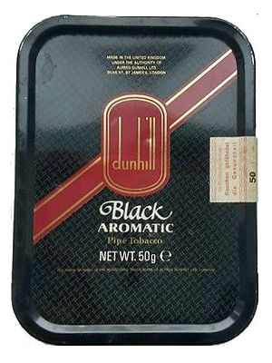 Dunhill Black Aromatic