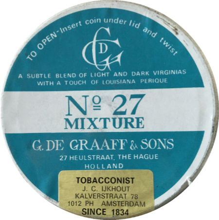 De Graaff & Sons N° 27 Mixture