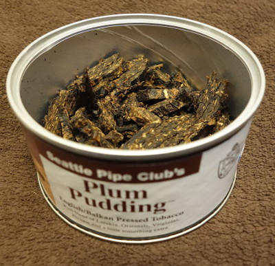 Seattle Pipe Club Plum Pudding